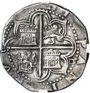 4 Reales - Felipe II (Seville) – reverse