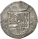 4 Reales - Felipe II (Toledo) – obverse
