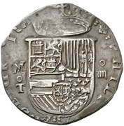 4 Reales - Felipe II (Toledo) -  obverse