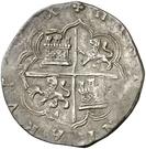 4 Reales - Felipe II (Toledo) – reverse