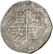 4 Reales - Felipe II (Toledo) -  reverse