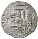4 Reales - Felipe II (Valladolid) – obverse