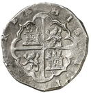 4 Reales - Felipe II (Valladolid) – reverse