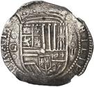 4 Reales - Felipe II (Granada) – obverse