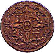 4 Maravedis - Carlos III – reverse