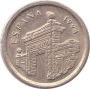 5 Pesetas (Aragon) -  obverse