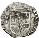2 Reales - Felipe II (Toledo) – obverse