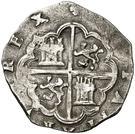 2 Reales - Felipe II (Toledo) – reverse