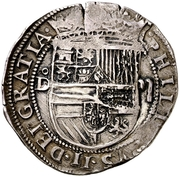 2 Reales - Felipe II (Segovia) -  obverse
