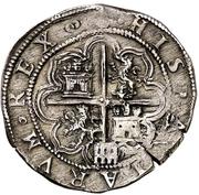 2 Reales - Felipe II (Segovia) -  reverse