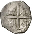 2 Reales - Felipe II (Valladolid) – reverse