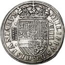 8 Reales - Felipe II (Segovia) – obverse