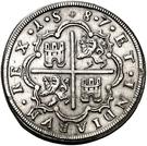 8 Reales - Felipe II (Segovia) – reverse