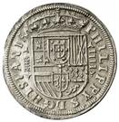 4 Reales - Felipe II (Segovia) – obverse
