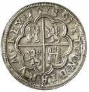 4 Reales - Felipe II (Segovia) – reverse