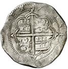 8 Reales - Felipe II (Granada) – reverse