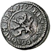 1 Maravedi - Felipe II (Segovia,milled) – reverse