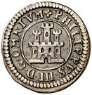 2 Maravedis - Felipe III (Segovia,milled,billon) – obverse