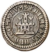 1 Maravedi - Felipe III (Segovia,milled,billon) – obverse