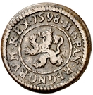 2 Maravedis - Felipe III (Segovia,milled,billon) – reverse