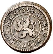 1 Maravedi - Felipe III (Segovia,milled,billon) – reverse