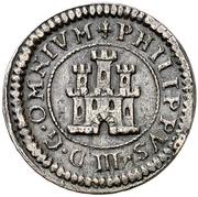 2 Maravedis - Felipe III (Segovia,billon) – obverse