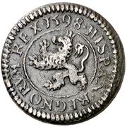 2 Maravedis - Felipe III (Segovia,billon) – reverse