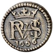 1 Maravedi - Felipe III (monogram) – obverse