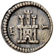 1 Maravedi - Felipe III (monogram) – reverse