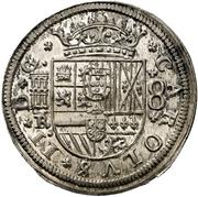 8 Reales - Carlos II (milled) – obverse