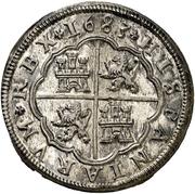 8 Reales - Carlos II (milled) – reverse