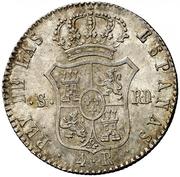 4 Reales - Fernando VII -  reverse