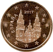 5 Euro Cent (2nd type) – obverse