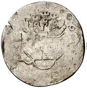 4 Maravedis - Felipe II (hammered) – obverse