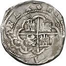 8 Reales - Felipe II (Toledo) – reverse