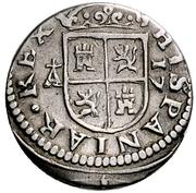 ½ Real - Felipe IV (Segovia,portrait) – reverse