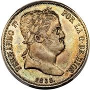 20 Reales - Fernando VII – obverse