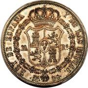 20 Reales - Fernando VII – reverse