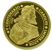 40 000 Pesetas - Juan Carlos I (Charles V) – reverse