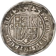 4 Reales - Fernando and Isabel (Granada) – obverse