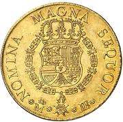 8 Escudos - Fernando VI (Madrid,draped) – reverse