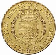 8 Escudos - Felipe V (Madrid) – reverse