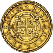 8 Escudos - Felipe VI (Segovia) – reverse