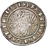 2 Reales - Fernando and Isabel (Burgos) – reverse
