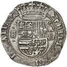 8 Reales - Felipe II (Valladolid) – obverse