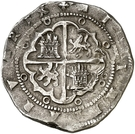 8 Reales - Felipe II (Valladolid) – reverse