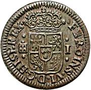 1 Maravedi - Fernando VI (Segovia) – obverse