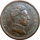 2 Centimos - Alfonso XIII (4th portrait) – obverse