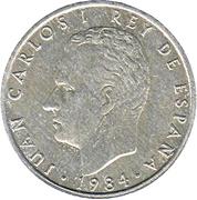 2 Pesetas - Juan Carlos I -  obverse