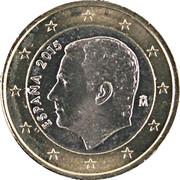 1 Euro - Felipe VI -  obverse